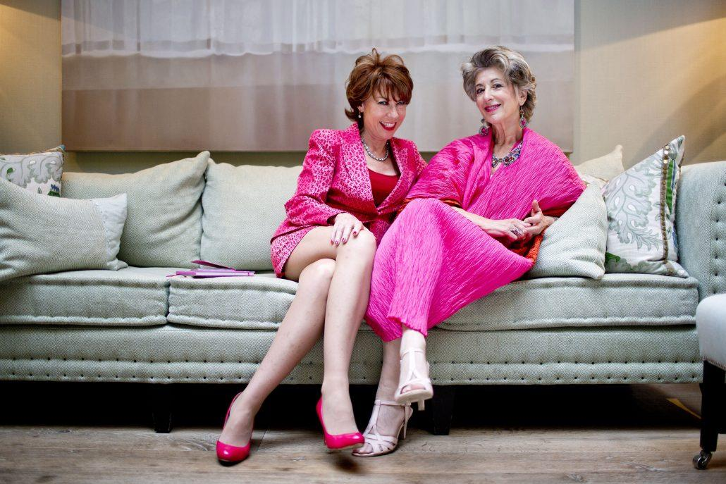 Maureen Lipman And Kathy Lette Support Wear It Pink 2015 2 1030X687