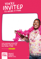 Blank feather boa poster